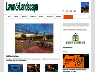 lawnandlandscape.com screenshot