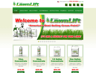 lawnlift.com screenshot