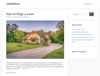 lawnreform.org screenshot