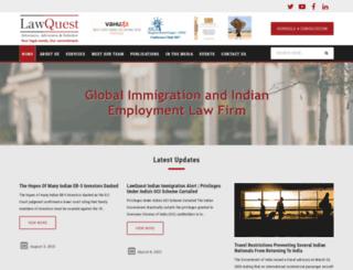 lawquestinternational.com screenshot