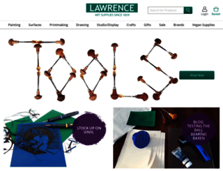lawrence.co.uk screenshot