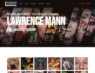 lawrencemann.co.uk screenshot