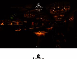 lawrys.jp screenshot