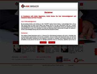 lawsenate.com screenshot