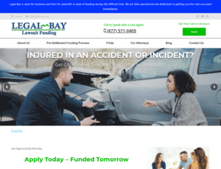 lawsuitssettlementfunding.com screenshot