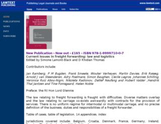 lawtext.co.uk screenshot