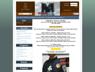 lawuniform.com screenshot