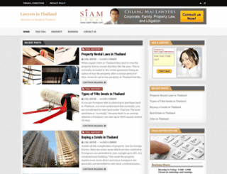 lawyer-bangkok.com screenshot