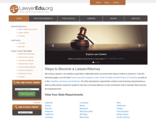 lawyeredu.org screenshot