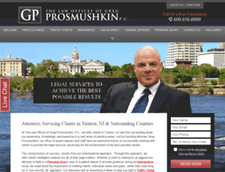 lawyertrenton.com screenshot
