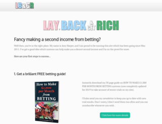 laybackandgetrich.com screenshot