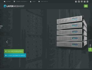 layerwebhost.net screenshot