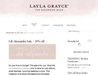 laylagrayceblog.com screenshot