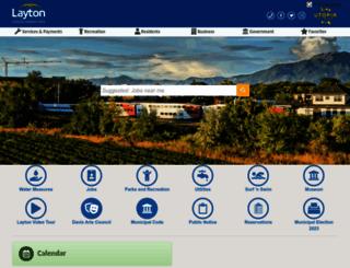 laytoncity.org screenshot