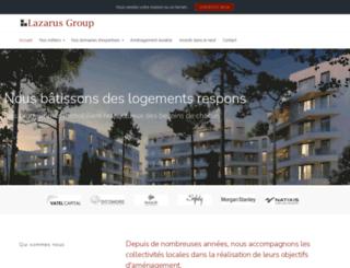 lazarusgroup.fr screenshot
