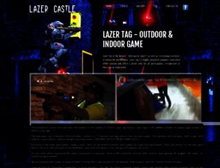 lazercastle.com screenshot