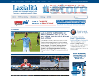 lazialita.com screenshot
