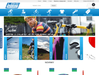 lbs-sport.cz screenshot