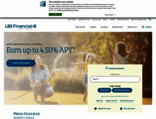 lbsfcu.org screenshot
