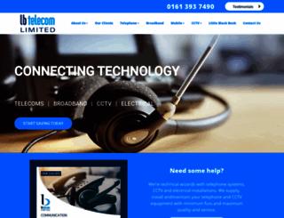 lbtelecom.co.uk screenshot