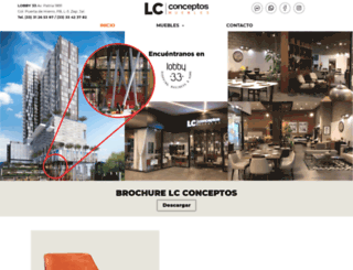 lcconceptos.com screenshot