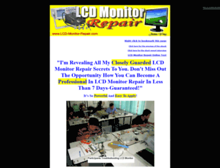 lcd-monitor-repair.com screenshot