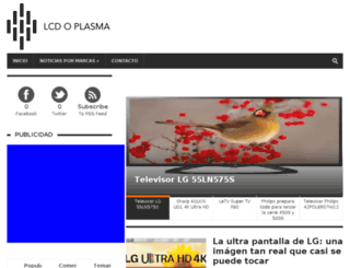 lcdoplasma.es screenshot