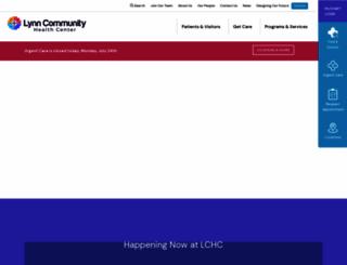 lchcnet.org screenshot