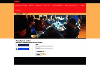 lcmnet.wildapricot.org screenshot