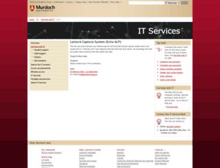 lcs.murdoch.edu.au screenshot