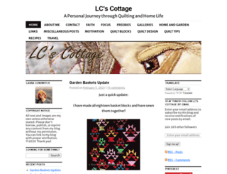 lcscottage.wordpress.com screenshot