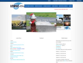 lcwsc.com screenshot