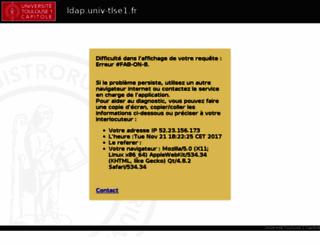 ldap.univ-tlse1.fr screenshot