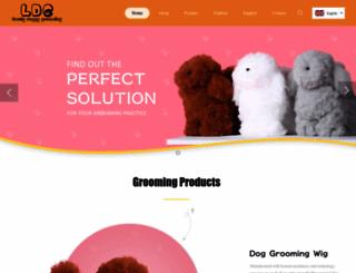 ldgkorea.com screenshot