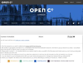ldn-lineup.openco.us screenshot