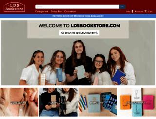 ldsbookstore.com screenshot