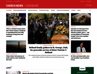 ldschurchnews.com screenshot