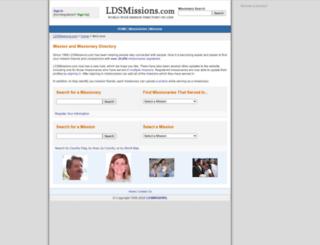 ldsmissions.com screenshot