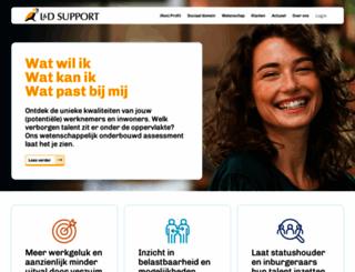 ldsupport.nl screenshot