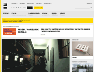 le-bal.fr screenshot