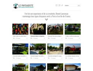 le-paysagiste.net screenshot