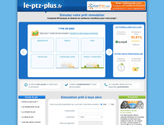 le-ptz-plus.fr screenshot
