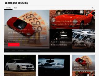 le-site-des-becanes.fr screenshot