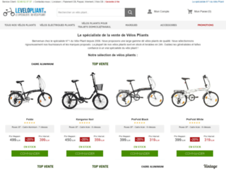 le-velo-pliant.fr screenshot