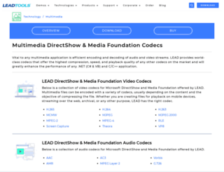 leadcodecs.com screenshot