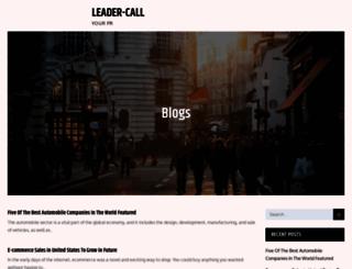 leader-call.net screenshot