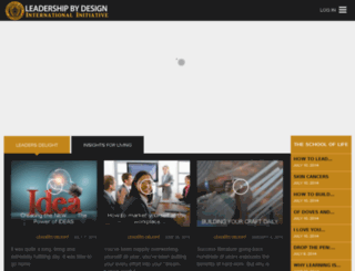 leadershipbydesign.org.ng screenshot