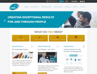 leadershipmanagement.com.au screenshot