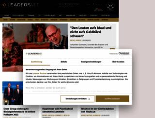 leadersnet.at screenshot