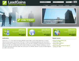leadgains.com screenshot